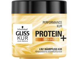 Schwarzkopf GLISS KUR Protein Shea Butter Performance Kur