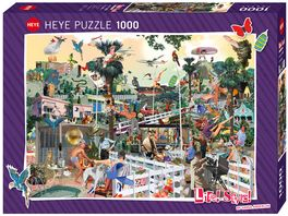 Heye Standardpuzzle 1000 Teile In The Hills Life Style
