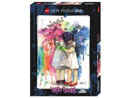 Heye Standardpuzzle 1000 Teile Imagination Free Colours