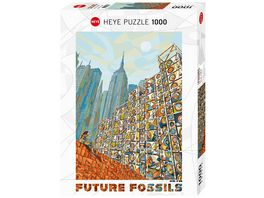 Heye Standardpuzzle 1000 Teile Home in Mind Future Fossils