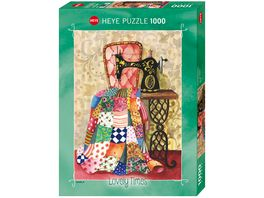 Heye Standardpuzzle 1000 Teile Quilt Lovely Times