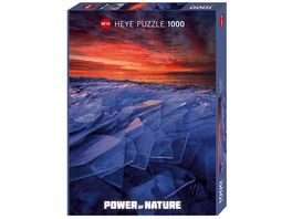 Heye Standardpuzzle 1000 Teile Ice Layers Power of Nature