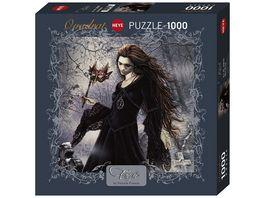 Heye Quadratpuzzle 1000 Teile New Black Favole