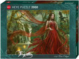 Heye Standardpuzzle 1000 Teile New Red Forgotten