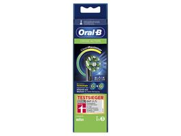 Oral B Aufsteckbuersten Cross Action BLACK CleanMaximizer