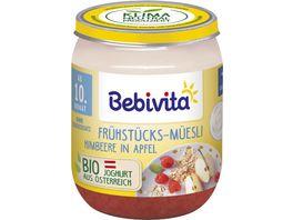 Bebivita Fruehstuecks Muesli Himbeere in Apfel