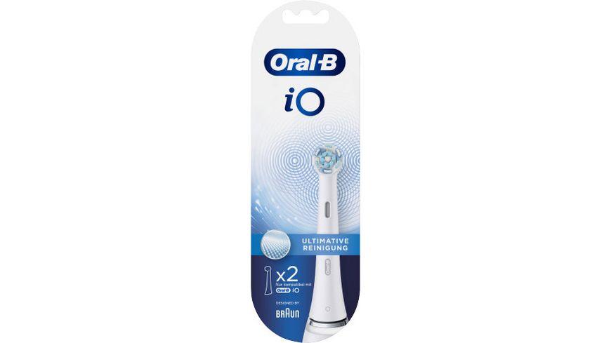 Oral B Aufsteckbuersten iO Ultimative Reinigung WHITE