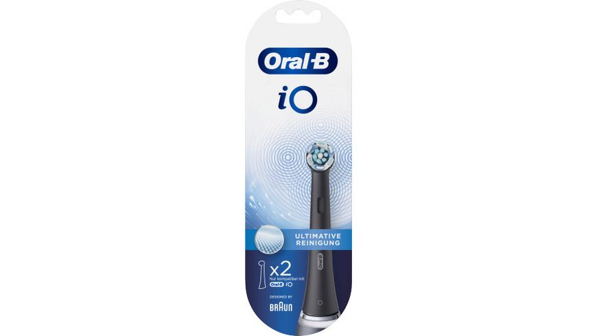 Oral B Aufsteckbuersten iO Ultimative Reinigung BLACK