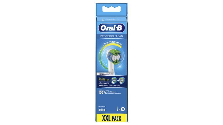 Oral B Aufsteckbuersten Precision Clean 8er CleanMaximizer