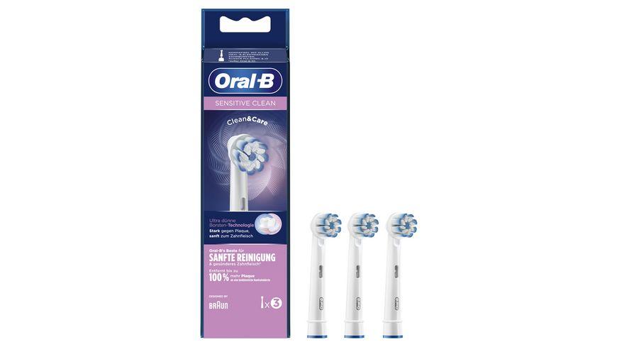 Oral B Aufsteckbuersten Sensitive Clean 3er