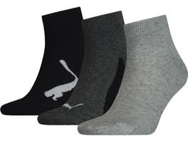 PUMA Kinder Socken BWT Quarter 3er Pack
