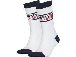 TOMMY HILFIGER Unisex Socken Tommy Jeans Sock 2er Pack