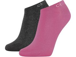 Calvin Klein Damen Fuesslinge Knit Payal 2er Pack