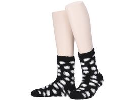 MOVE UP Damen Kuschelsocken Animaldesign