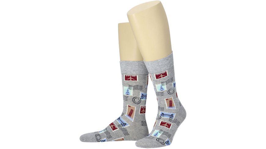 MOVE UP Herren Socken around the world