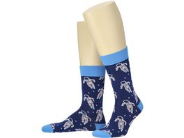 MOVE UP Herren Socken Astronaut