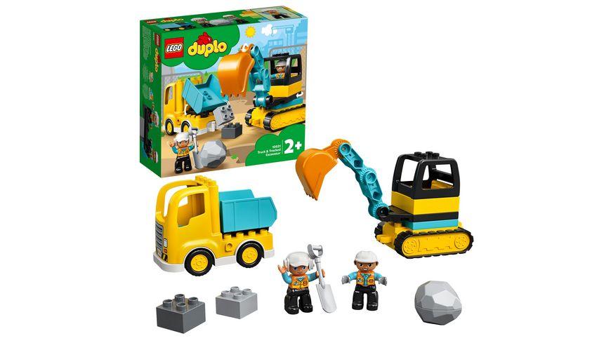 LEGO DUPLO - 10931 Bagger und Laster