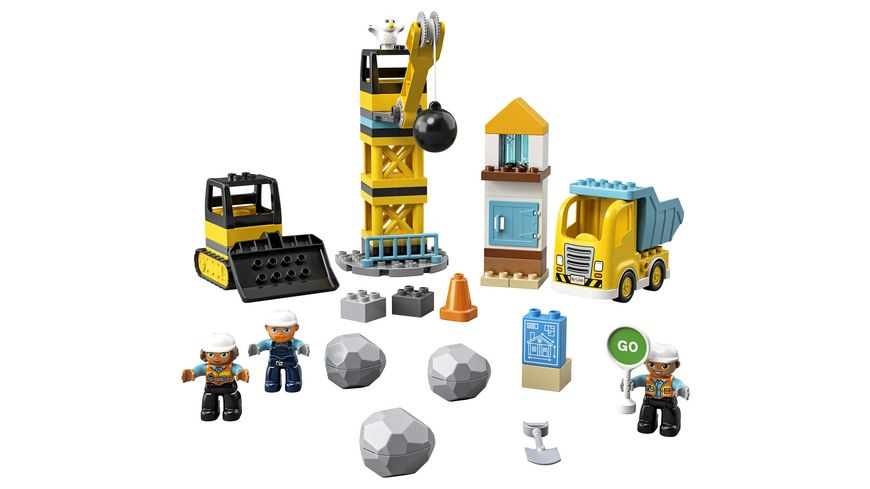 LEGO DUPLO 10932 Baustelle mit Abrissbirne