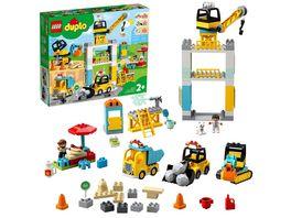 LEGO DUPLO 10933 Grosse Baustelle mit Licht und Ton
