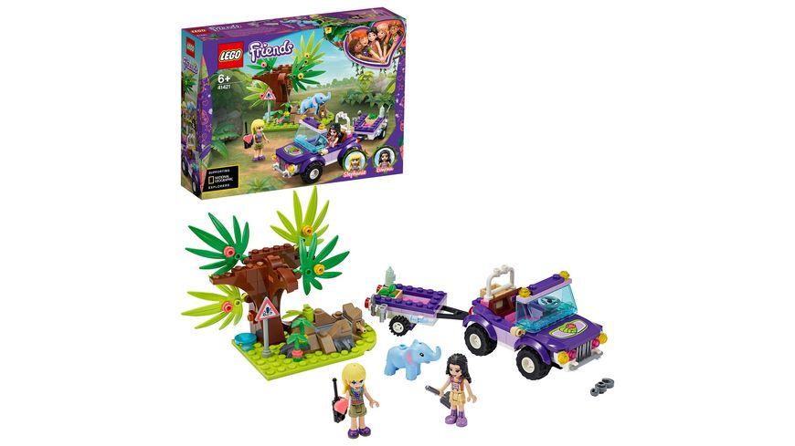 LEGO Friends 41421 Rettung des Elefantenbabys mit Transporter