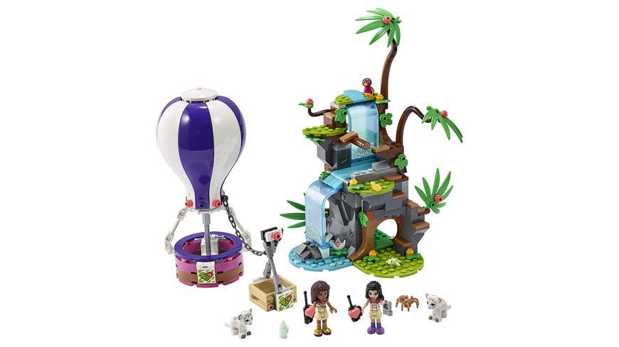 LEGO Friends 41423 Tiger Rettung mit Heissluftballon