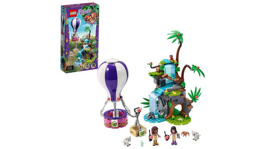 LEGO Friends - 41423 Tiger-Rettung mit Heißluftballon