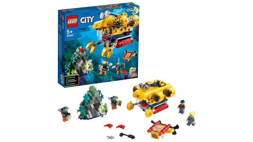 LEGO City 60264 Meeresforschungs U Boot