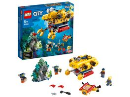LEGO City 60264 Meeresforschungs U Boot