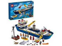 LEGO City 60266 Meeresforschungsschiff