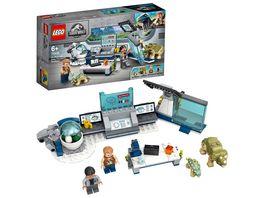 LEGO Jurassic World 75939 Dr Wus Labor Ausbruch der Baby Dinosaurier