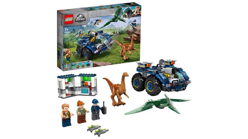 LEGO Jurassic World 75940 Ausbruch von Gallimimus und Pteranodon