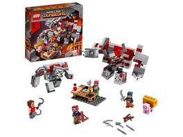 LEGO Minecraft 21163 Das Redstone Kraeftemessen