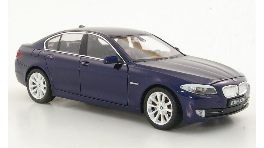 Welly 1 24 BMW 535i blau