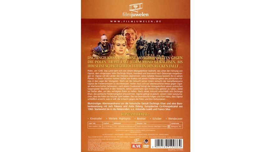 Die Mongolen Der Raubzug des Dschingis Khan Filmjuwelen