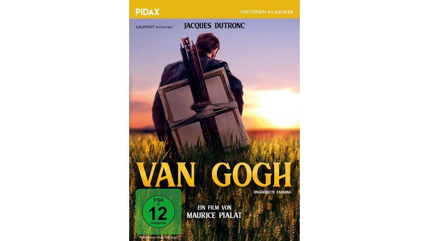 Van Gogh Mehrfach preisgekroente Filmbiografie Pidax Historien Klassiker