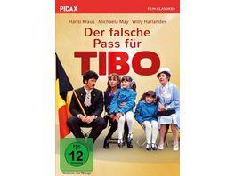 Der falsche Pass fuer Tibo Packendes Filmdrama mit Starbesetzung Pidax Film Klassiker