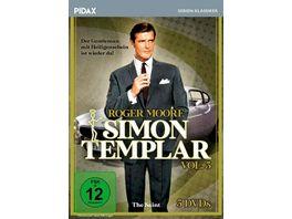 Simon Templar Vol 3 Weitere 16 Folgen der Kultserie mit James Bond Darsteller Roger Moore Pidax Serien Klassiker 5 DVDs