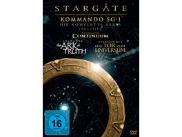 Stargate Kommando SG 1 Complete Box 62 DVDs