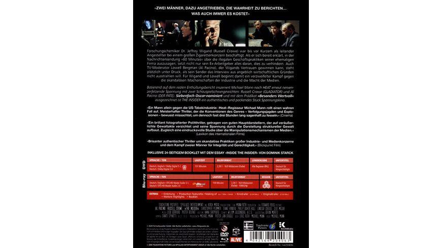 The Insider Special Edition Mediabook DVD Filmjuwelen