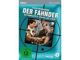 Der Fahnder Staffel 5 Weitere 9 Folgen der preisgekroenten Kult Krimiserie Pidax Serien Klassiker 3 DVDs