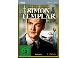 Simon Templar Vol 2 Weitere 22 Folgen der Kultserie mit James Bond Darsteller Roger Moore Pidax Serien Klassiker 7 DVDs
