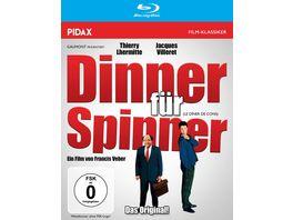 Dinner fuer Spinner Le Diner de cons Die originale franzoesische Komoedie mit Starbesetzung Pidax Film Klassiker