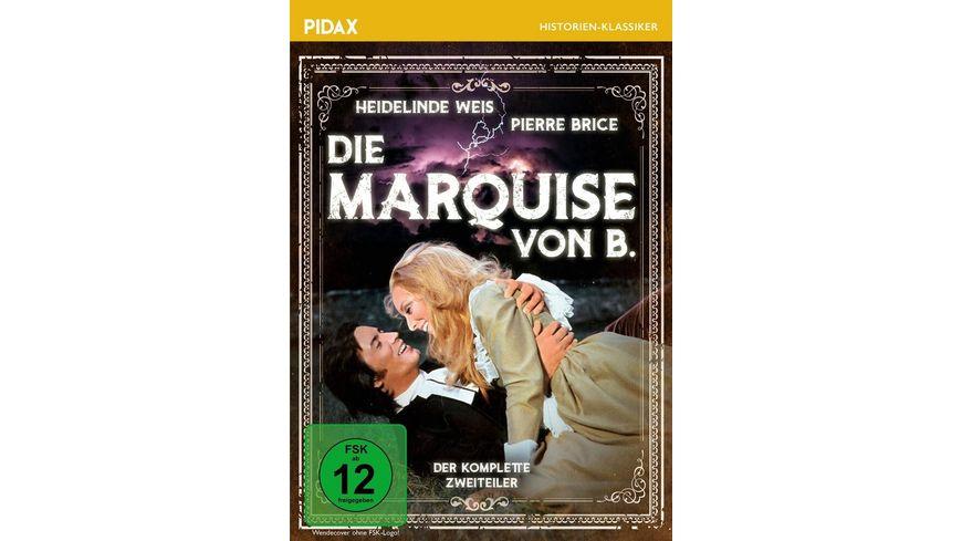Die Marquise von B. / Der komplette Zweiteiler mit Starbesetzung über die berühmte Giftmischerin (Pidax Historien-Klassiker)