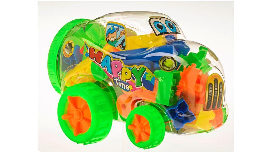 Mueller Toy Place Block Truck inkl Mini Car 1 Stueck sortiert