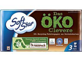 Softstar Toilettenpapier Das OeKO Clevere