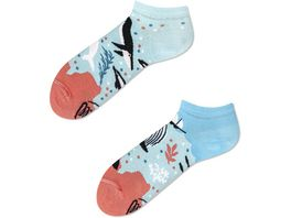 MANY MORNINGS Unisex Sneaker Socken Ocean Life