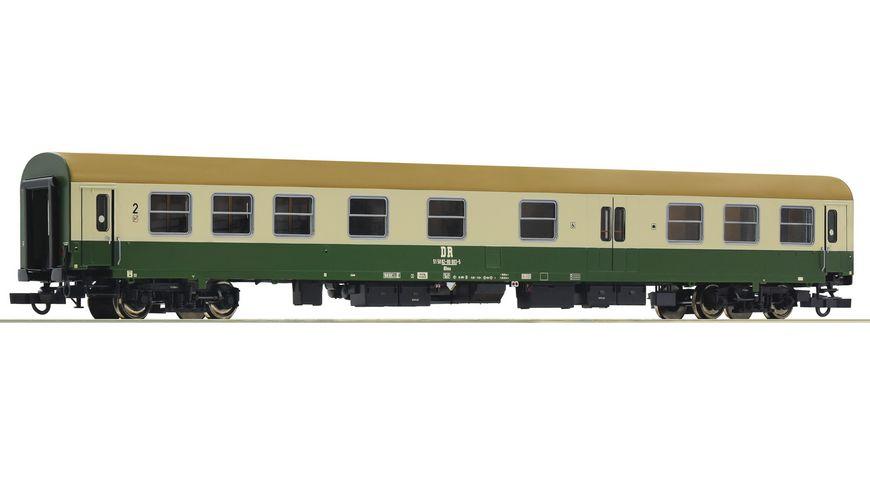 Roco 74805 - Schnellzugwagen 2. Klasse mit Gepäckabteil, DR