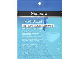Neutrogena Hydro Boost 2 in 1 Tuch Augenmaske