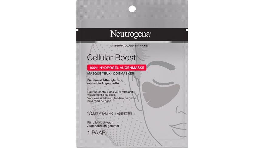 Neutrogena® Cellular Boost 100% Hydrogel Augenmaske