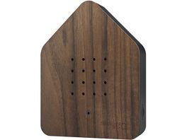 Relaxound Zwitscherbox Holz Nuss schwarz